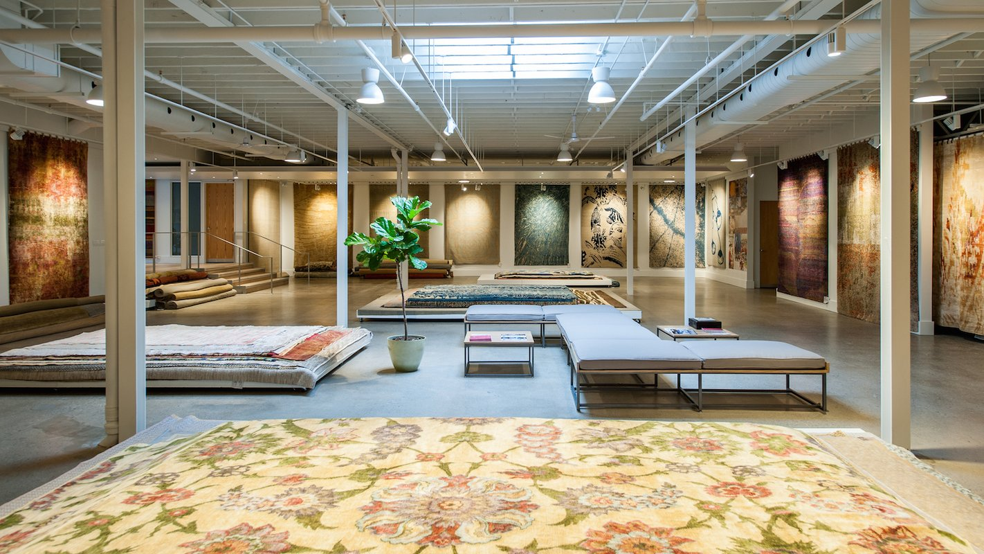 New Amala Carpets Showroom and rug store at 990 Roselawn Ave in Toronto