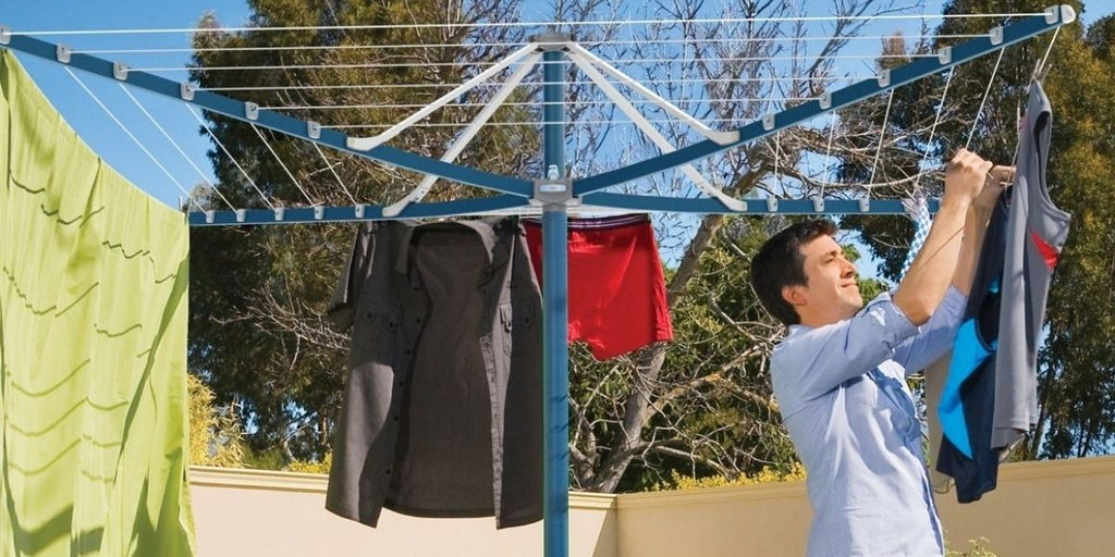 How to restring a hill hoist clotheslines