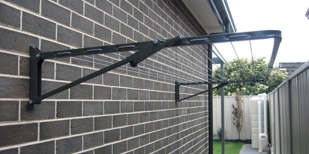 How to restring a wall mounted clotheslines