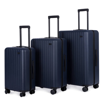 3 Piece Luggage Set Atlantic Blue