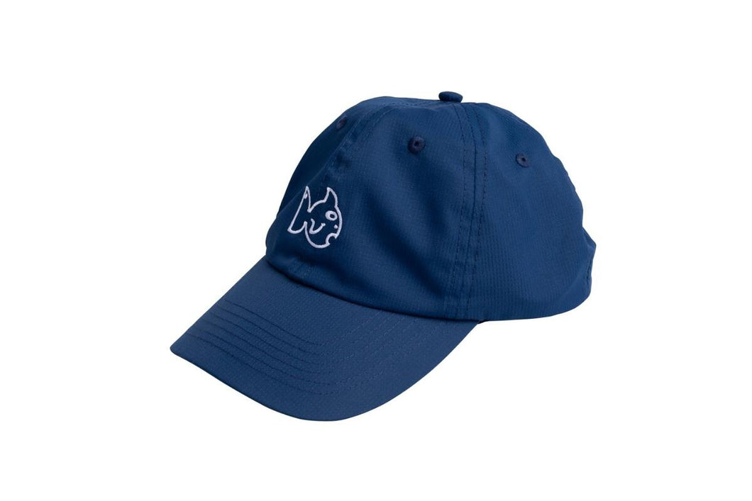 *PRE-SALE* Prodoh Performance Baseball Cap-Blueberry with White Embroidery