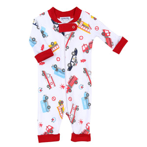 Magnolia Baby Around the Town Printed Zipper Pjs