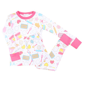 Magnolia Baby Baking Party! Printed Long Pajama