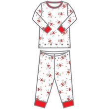 Load image into Gallery viewer, Magnolia Baby Peppermint Fairies Printed Long Pajama