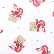 Load image into Gallery viewer, Magnolia Baby Vintage Up on the Housetop Printed Zipped Pajama