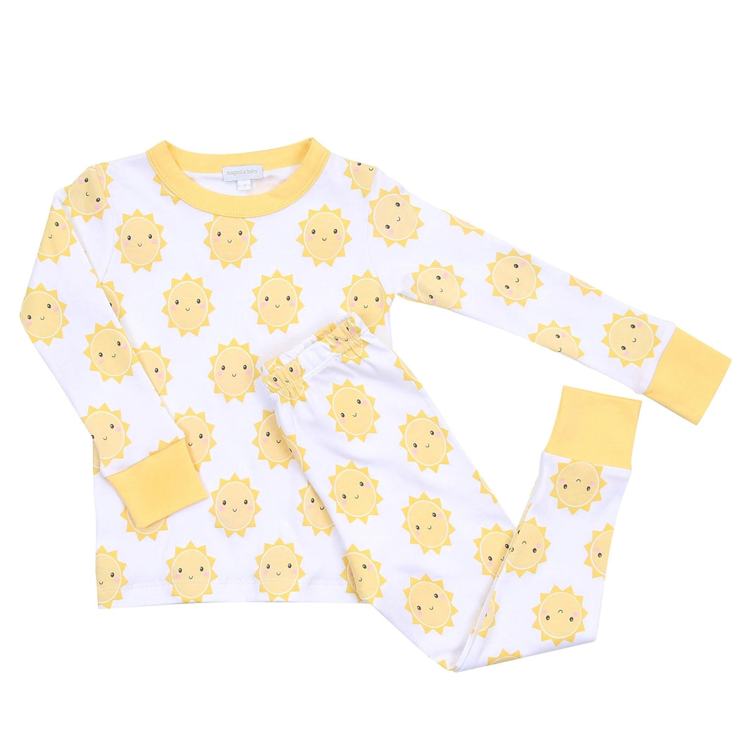 Magnolia Baby: Sunshine Long Pajamas