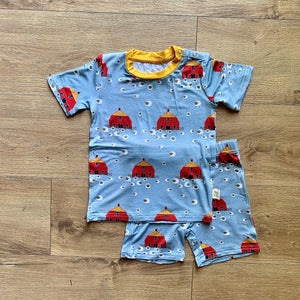 *NEW Kozi & Co Short Sleeve Set Big Kid (6-10) Country Collection