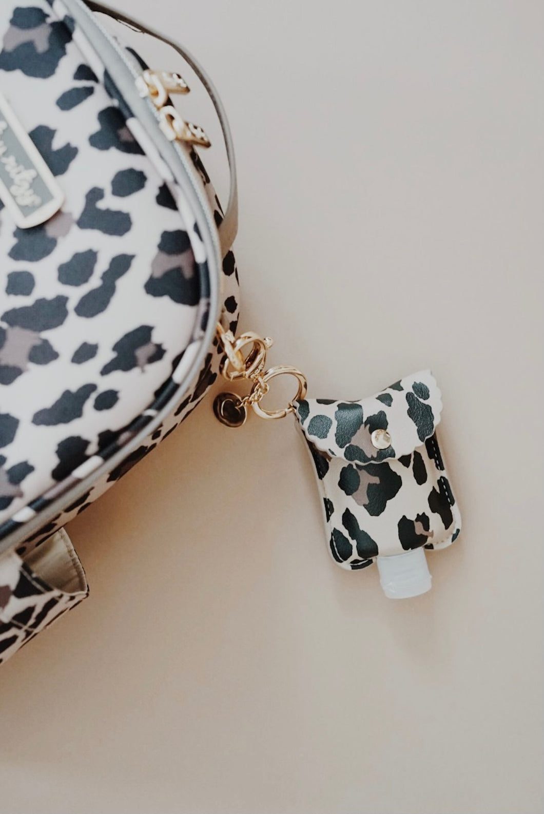 *NEW Itzy Ritzy Leopard Cute 'n Clean Hand Sanitizer Charm