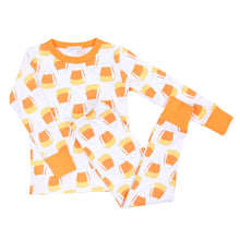 Load image into Gallery viewer, Magnolia Baby Candy Corn Long Pajama