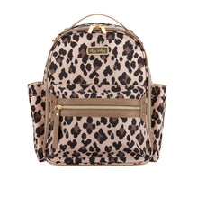 Load image into Gallery viewer, Itzy Ritzy Leopard Itzy Mini Diaper Bag Backpack