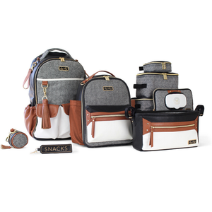 *PREORDER* NEW Itzy Ritzy Coffee & Cream Itzy Mini Diaper Bag Backpack