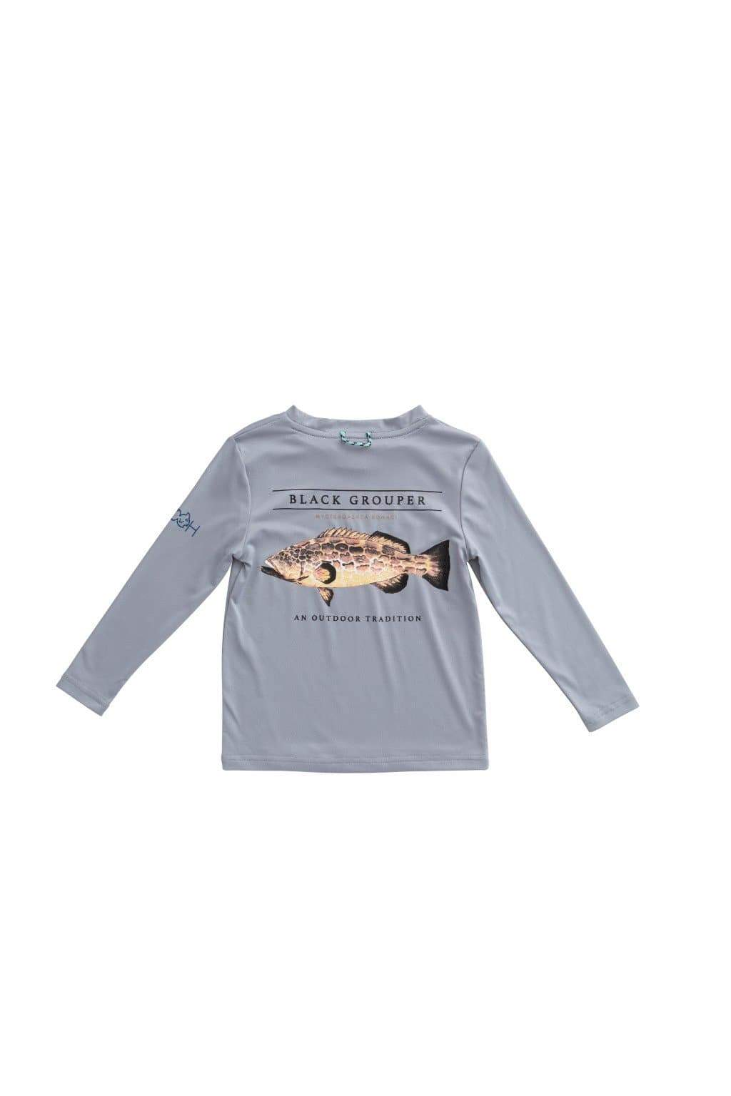 Prodoh Grouper Performance T-Shirt in Igneous Gray