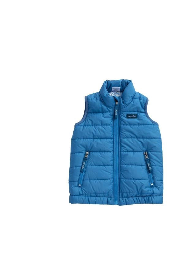 Prodoh Puffer Vest/Oyster Lining in Diving Hole Blue