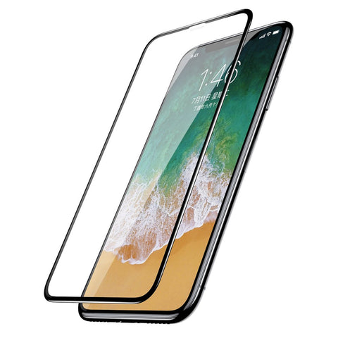 Full Coverage 3D Tempered Glass Screen Protector for iPhone 11 Pro / X/XS