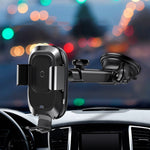 Wireless Car Charger & Dashboard Phone Holder