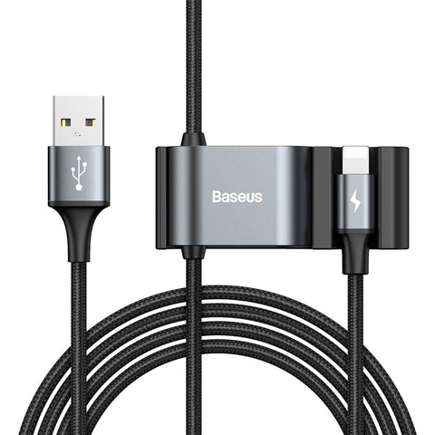 Special Data Cable for Backseat USB / Lightning with USB Hub