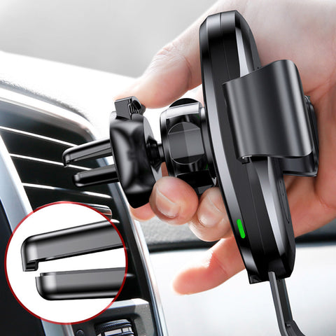 Gravity Wireless Car Charger & Air Vent Phone Holder