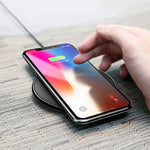 Simple Stylish Wireless Charger with USB / Lightning Cable