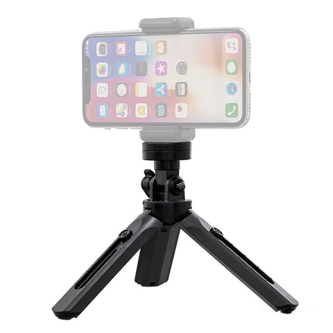 Mini Tripod With Phone Mount, Selfie Stick & GoPro Holder