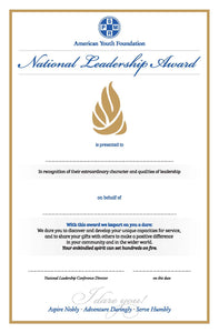 National Leadership Award