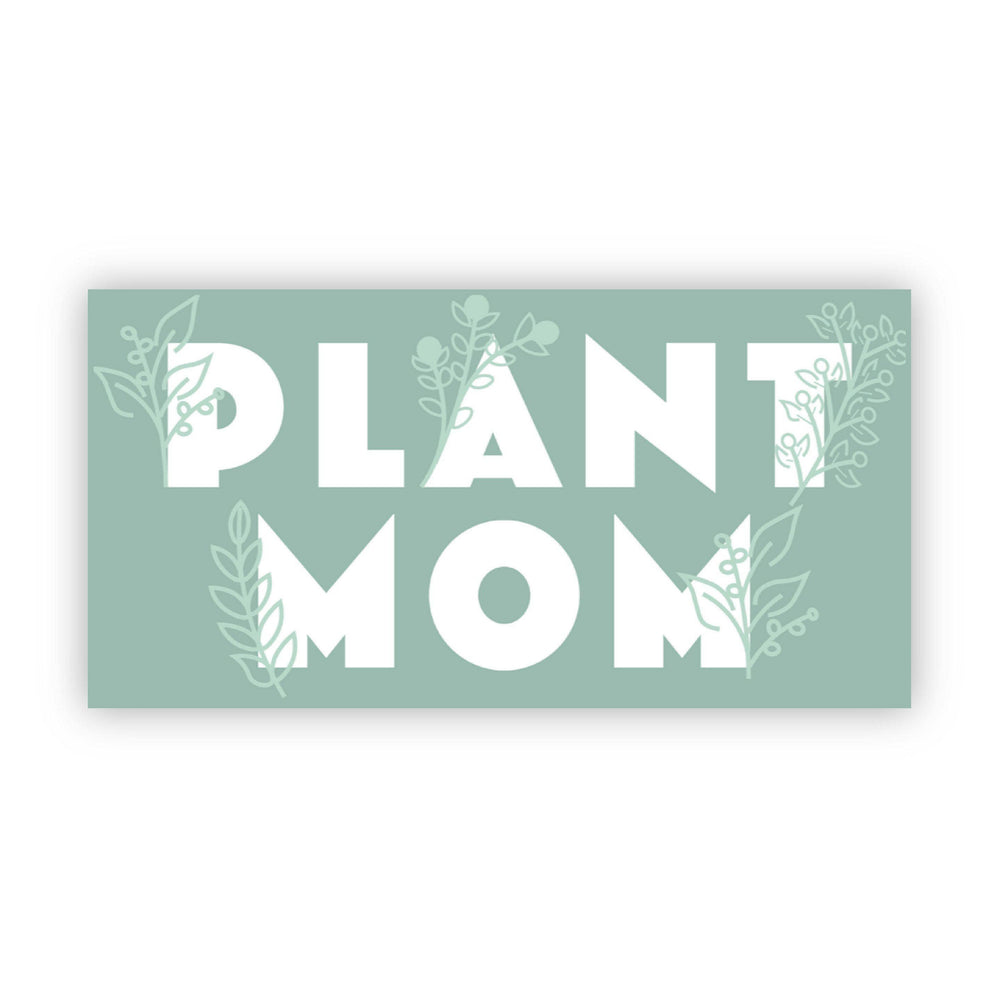 Load image into Gallery viewer, Plant Mom Sticker, Bijoux Vibes boutique Elizabeth City