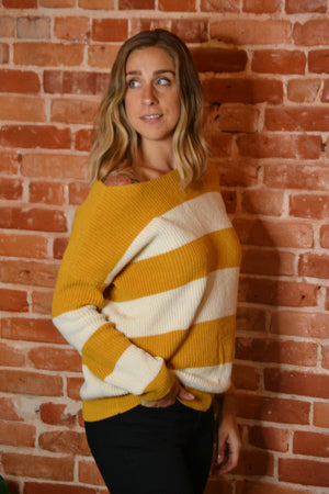 Load image into Gallery viewer, Colorblock Sweater