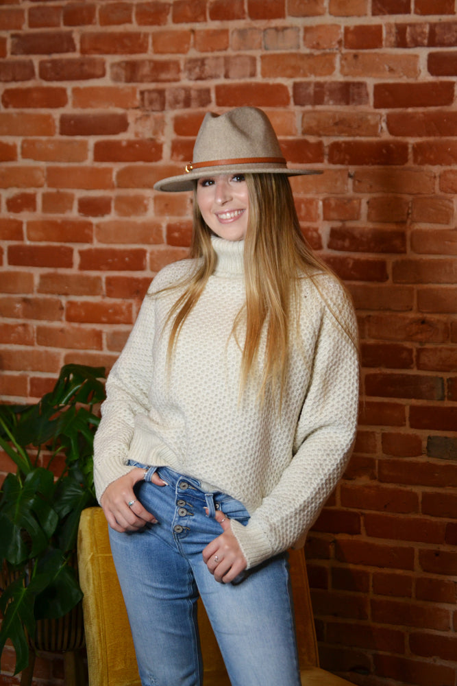 Turtleneck Knit Sweater, Bijoux Vibes boutique Elizabeth City