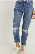 High Rise Girl Friend Jeans