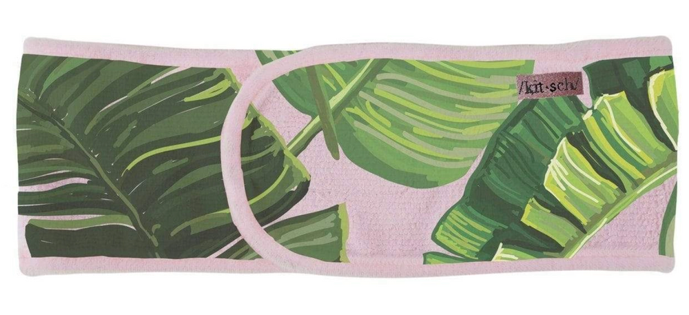 Load image into Gallery viewer, Microfiber Spa Headband-Palm Print
