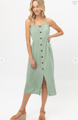 Cali Buttoned Dress