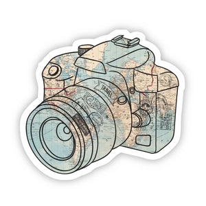 Camera Map Sticker, Bijoux Vibes boutique Elizabeth City