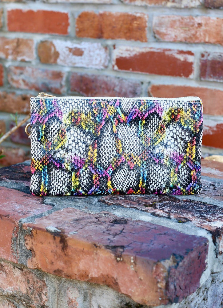 Snake Print-Multi Crossbody