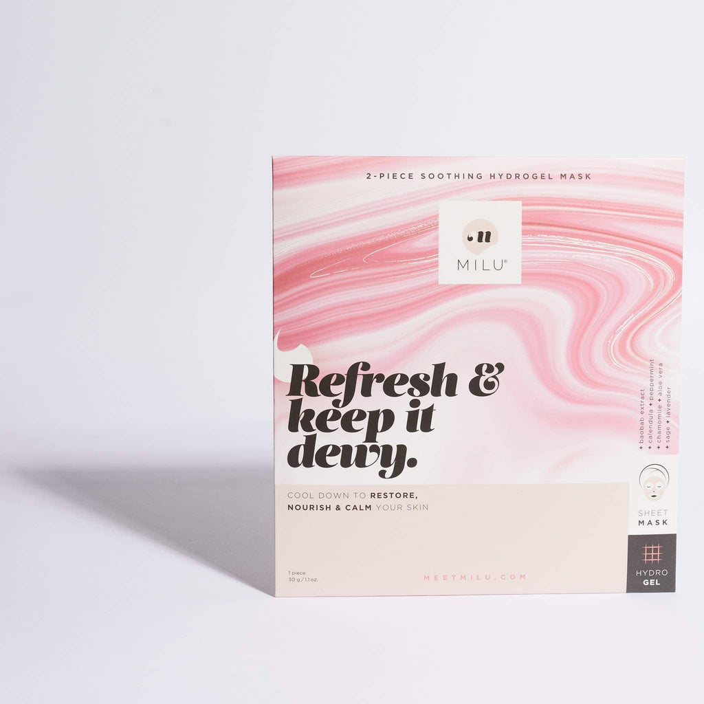 Soothing hydrogel sheet mask