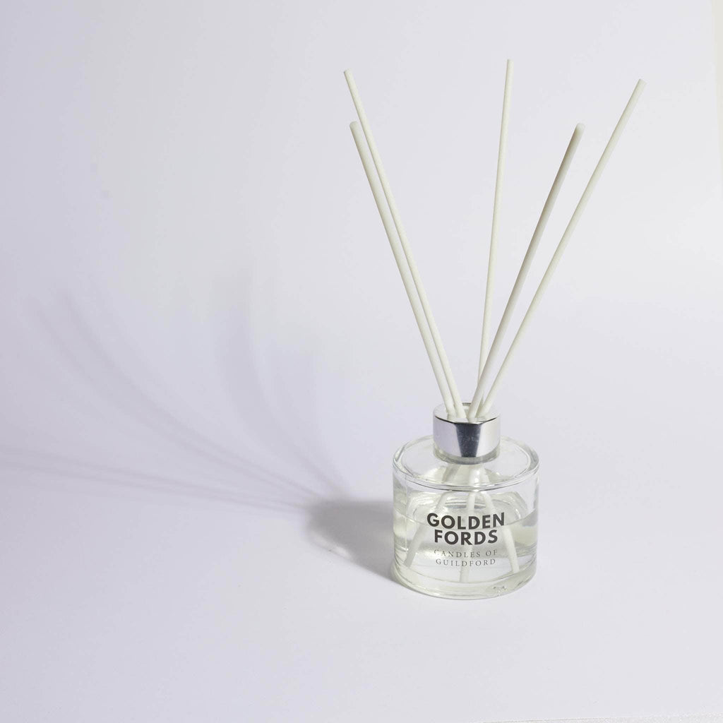 Golden Fords Candle Amber Noir Reed Diffuser