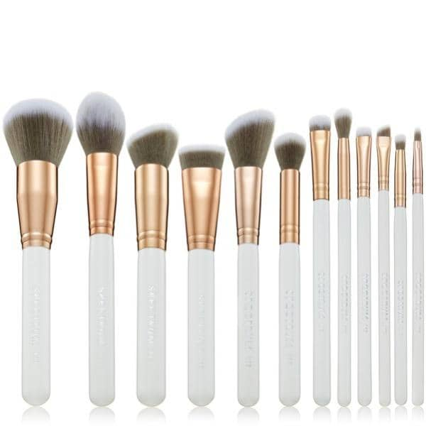 Spectrum Collections White MArbelous Brush Set