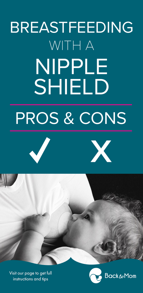 Pros and cons of using nipple shields. If you are a mom thinking of using a nipple shield check out these pros and cons first. Are nipple shields bad? Find out here.