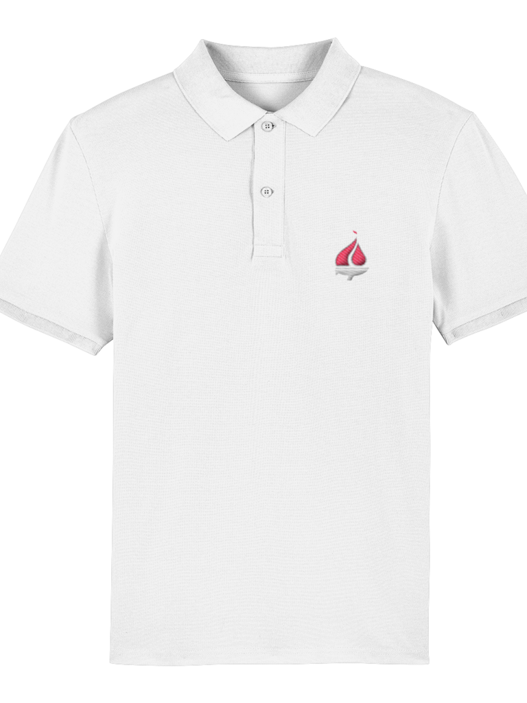 UKFSC Men's Embroidered Yacht Polo Shirt