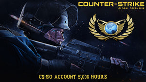 Counter-Strike: Global offesnive 5,000HRS STEAM ACCOUNT