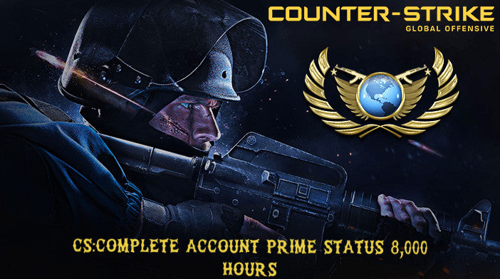 CS:Complete [🌟PRIME🌟] 8,000HRS STEAM ACCOUNT
