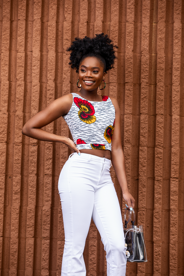 Bintu Peak-A-Boo Crop Top