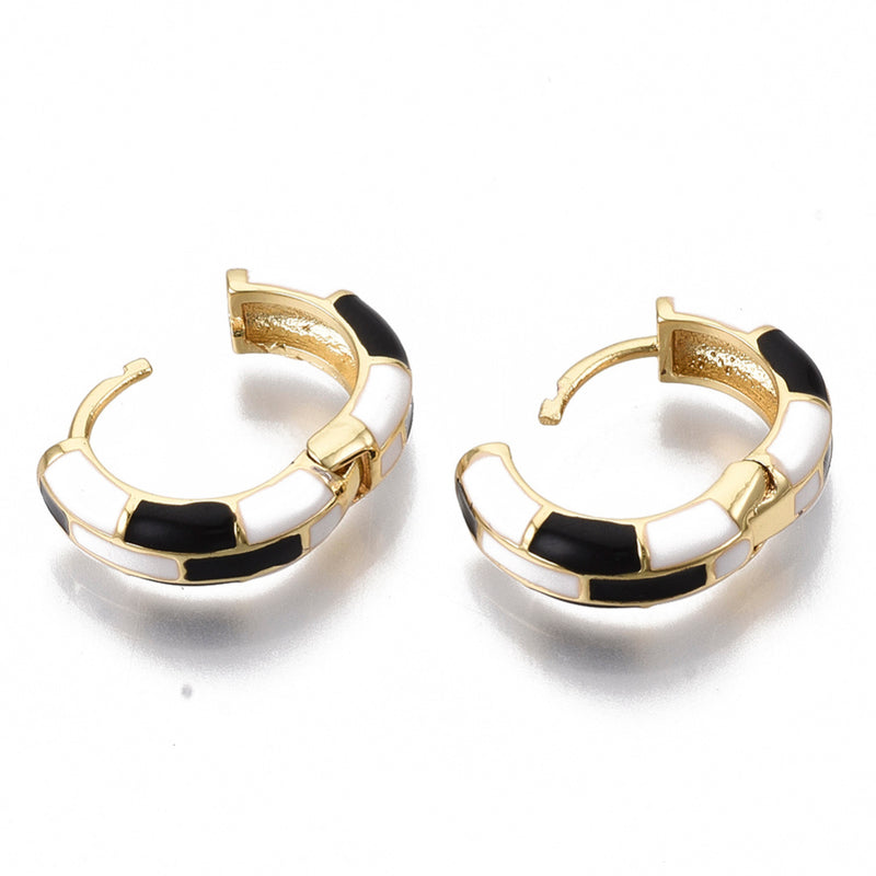 CeCe Huggie Earrings | 18k Gold-Earring-Southern Bale