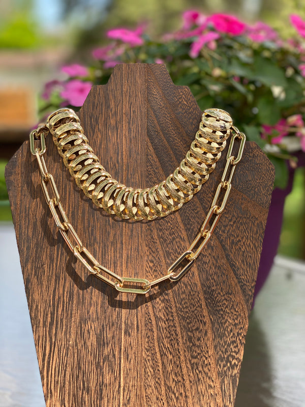 Half Moon & Me Necklace-Necklace-Southern Bale