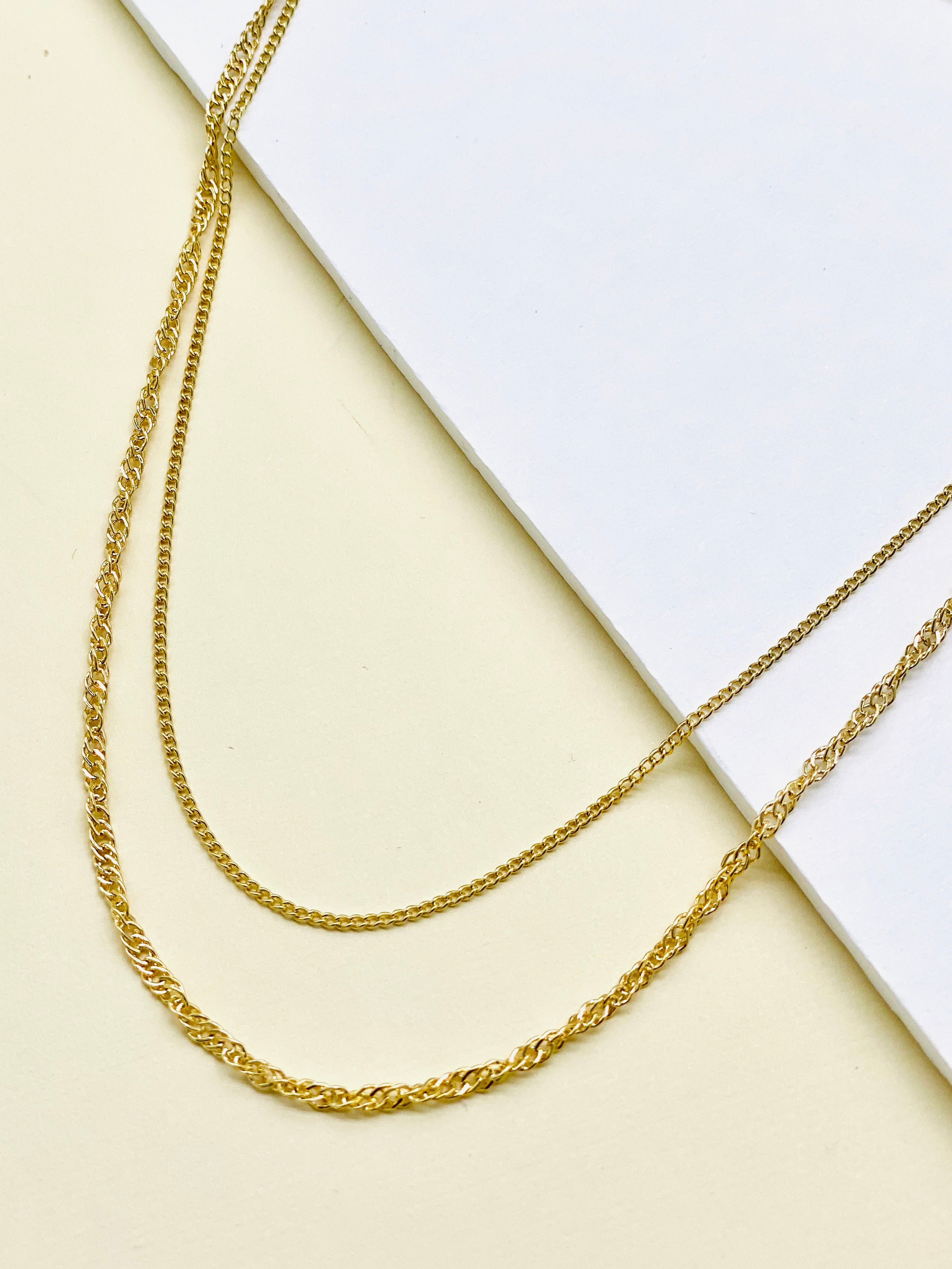 Evelyn Chain Necklace | 18K Gold-Necklace-Southern Bale