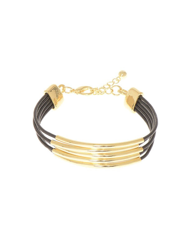 Thin Line Between | Black-Bracelet-Southern Bale