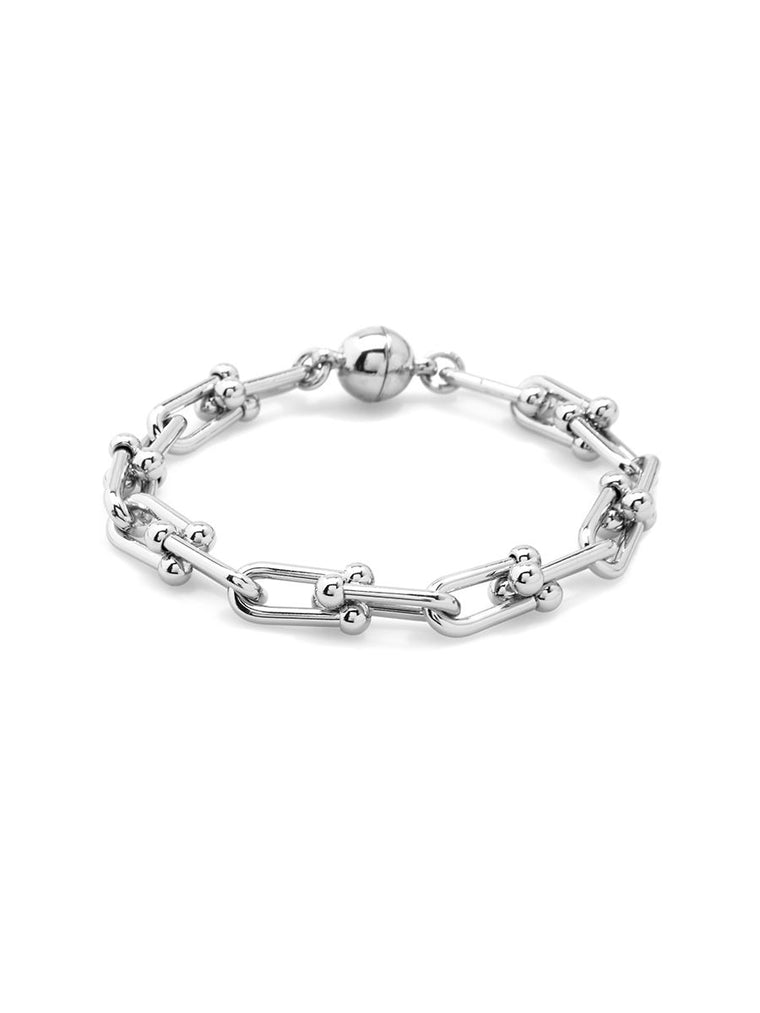 Linked Up Bracelet | Silver