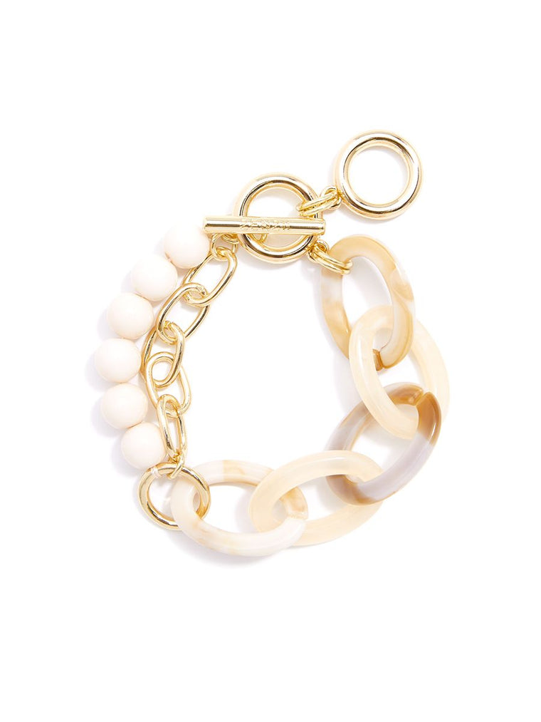 The Braxton Bracelet | Cream