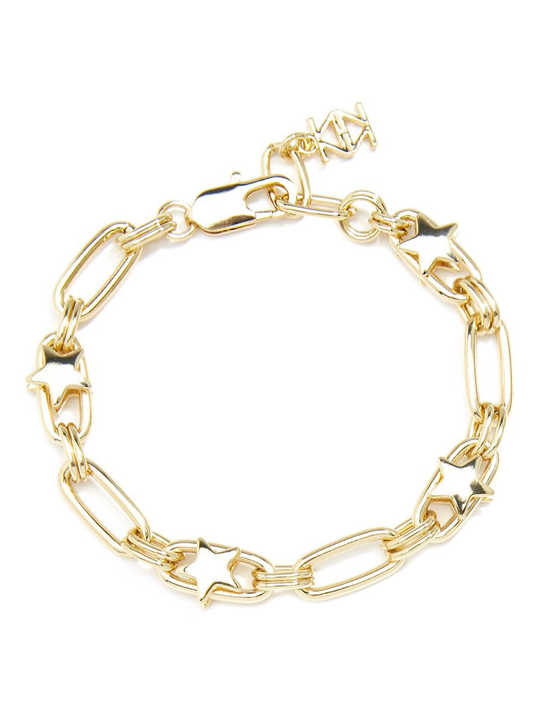Wish Upon a Star Bracelet | 18k Gold