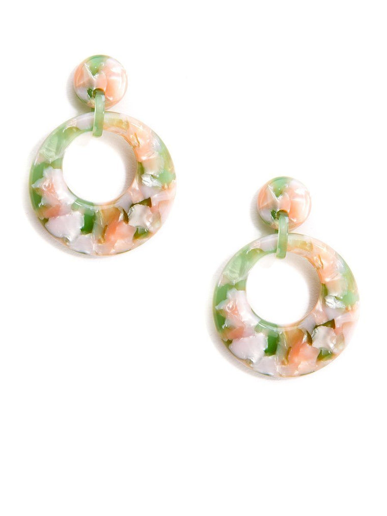 Cut of Marble Earrings