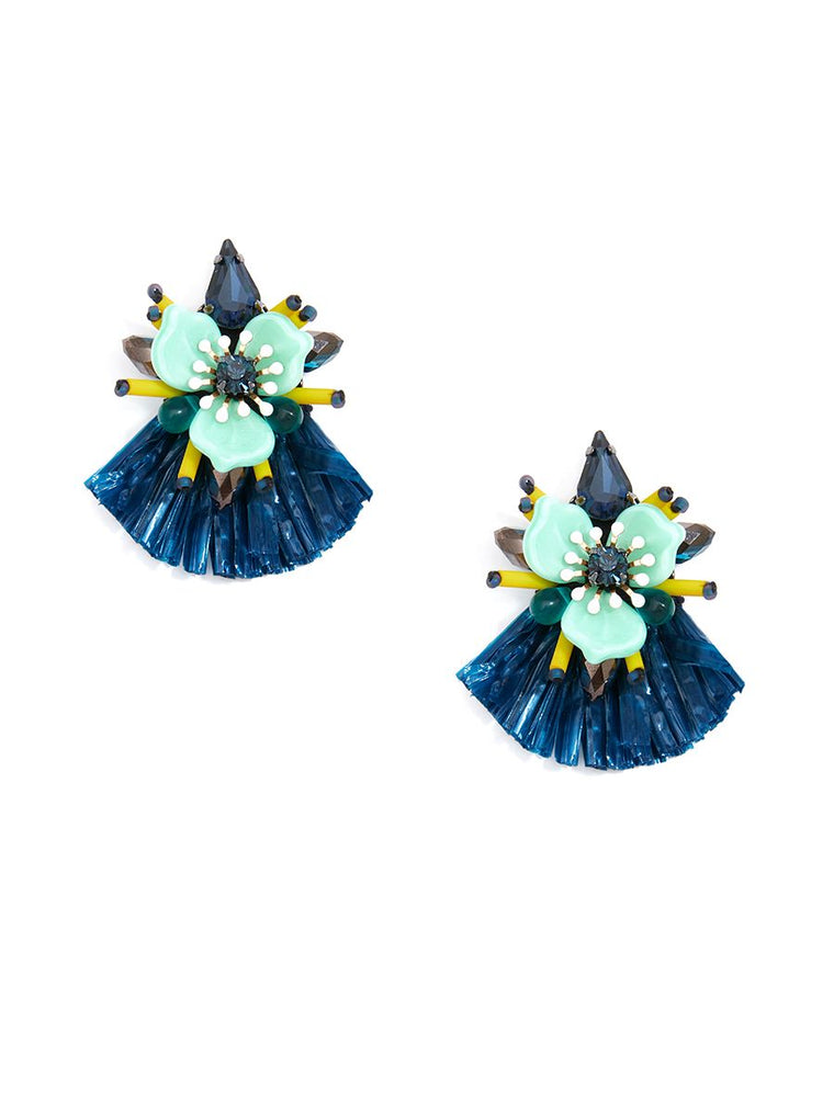 Raffia Earrings