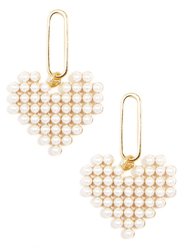 Heart of Pearls Earring-Earring-Southern Bale